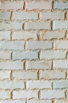 Fondo de textura de azulejo de ladrillo blanco decorativo