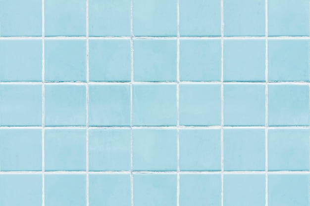 Fondo de textura de azulejos cuadrados azules