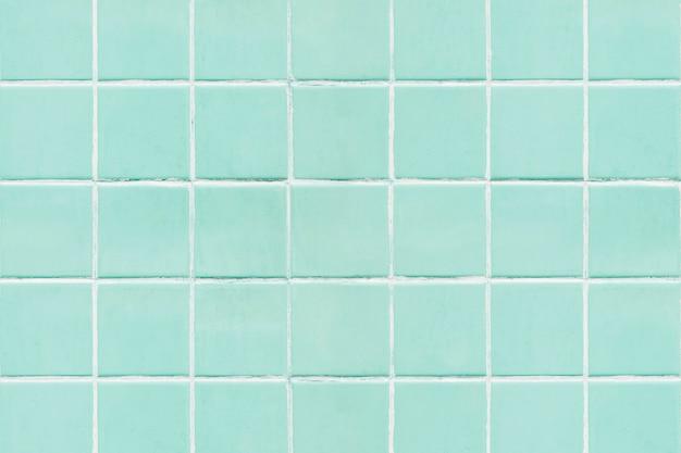 Fondo de textura de azulejos cuadrados verde