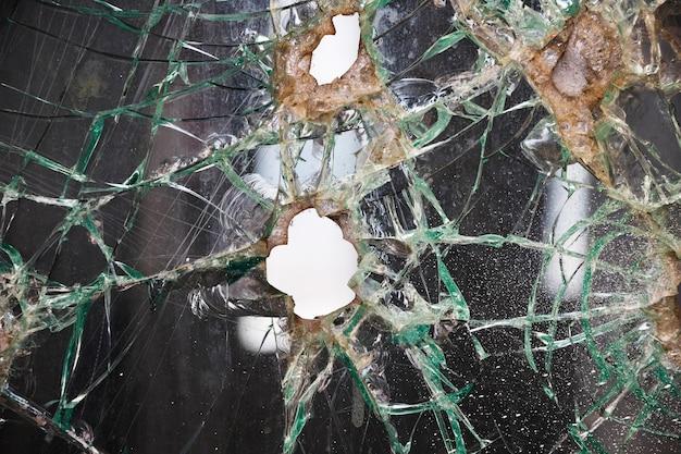 Fondo de textura de cristal roto
