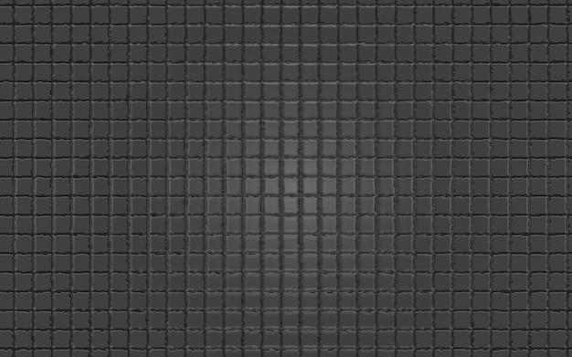 Fondo de textura de cuadrados geométricos gris oscuro