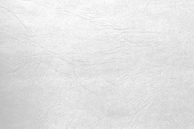 Fondo de textura de cuero brillante blanco y para el concepto de fondo de decoración de diseños