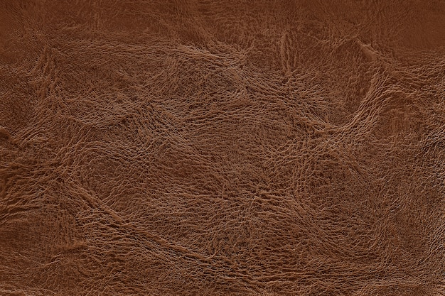 Fondo de textura de cuero marrón oscuro