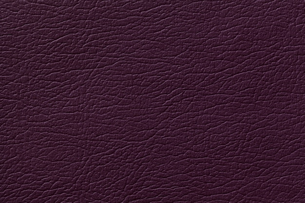 Fondo de textura de cuero púrpura oscuro con