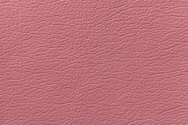 Fondo de textura de cuero rosa con patrón