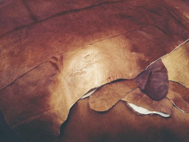 Fondo de textura de cuero de vaca de buena calidad para la venta