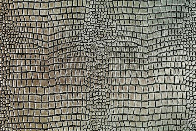 Fondo de textura de forma de piel de cocodrilo metálico