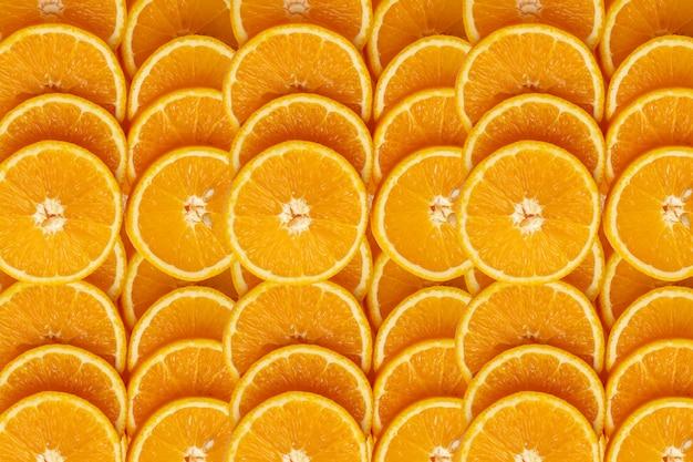 Fondo y textura de frutas naranjas
