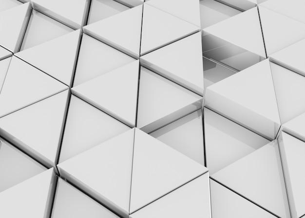 Fondo de textura geométrica elegante 3d
