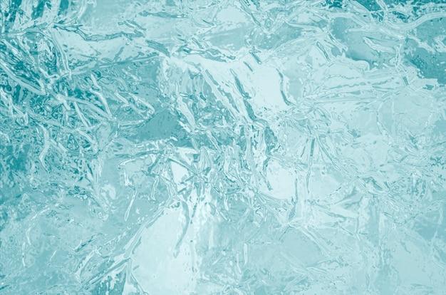 Fondo de textura de hielo congelado