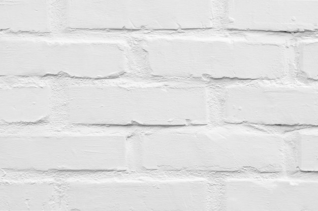 Fondo de textura de ladrillo blanco. resumen textura resistida.