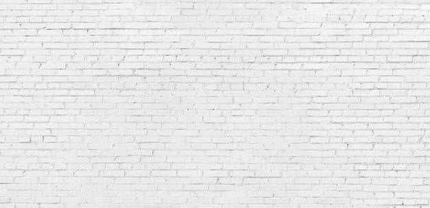 Fondo de textura de ladrillo blanco