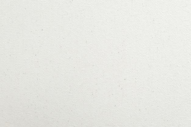 Fondo de textura de lona blanca. de cerca.