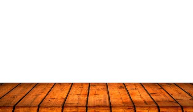 Fondo de textura de madera con fondo blanco aislado