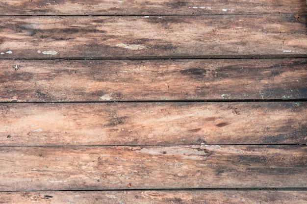 Fondo de textura de madera, tablero de madera de vista superior.