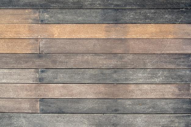 Fondo De Textura De Madera Terraza De Piso En Color Vintage