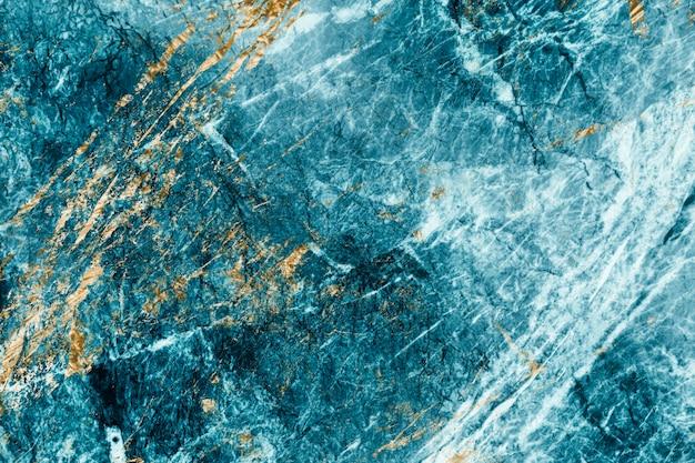 Fondo con textura de mármol azul y oro