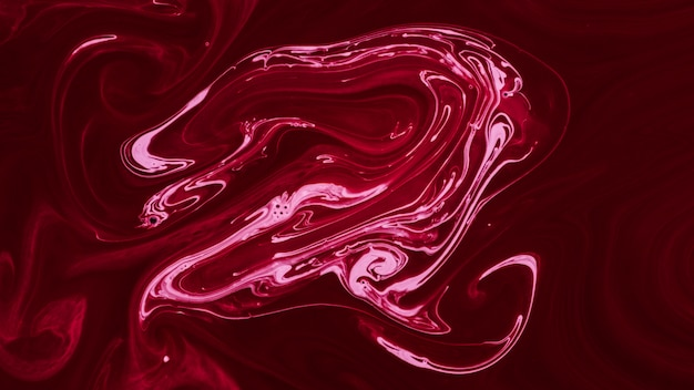 Fondo de textura de mármol que fluye rosa hecha a mano