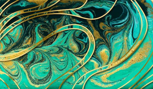 Fondo de textura de mármol verde