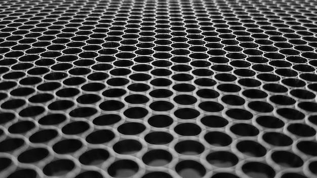 Fondo de textura de material de malla de alambre de aluminio