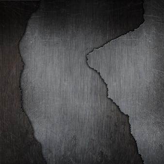 Fondo de textura de metal agrietado grunge 3d