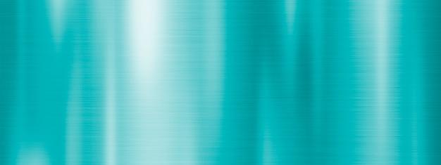Fondo de textura de metal azul verde