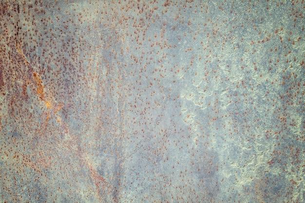 Fondo de textura de metal oxidado desgastado oscuro. efecto vintage
