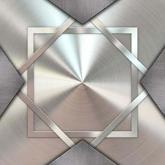 Fondo de textura metálica