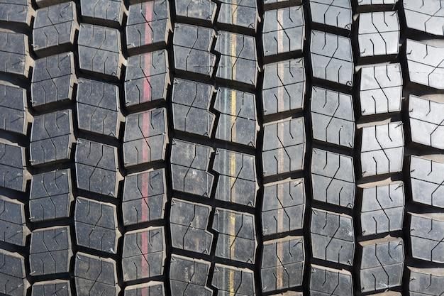 Fondo de textura de neumáticos de camión