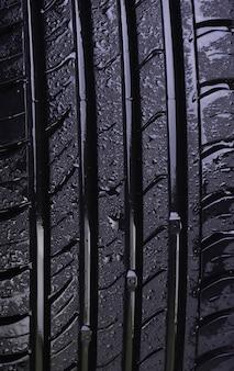 Fondo de textura de neumáticos