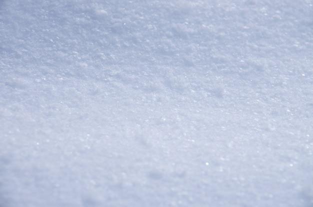 Fondo de textura de nieve fresca