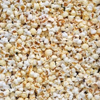 Fondo de textura de palomitas de maíz