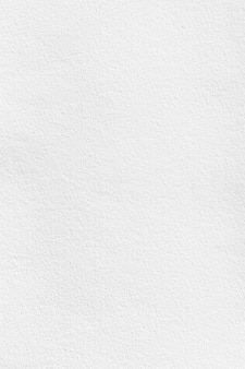 Fondo de textura de papar acuarela blanca vertical para diseño de tarjeta de portada o fondo de arte de pintura aon superpuesto.