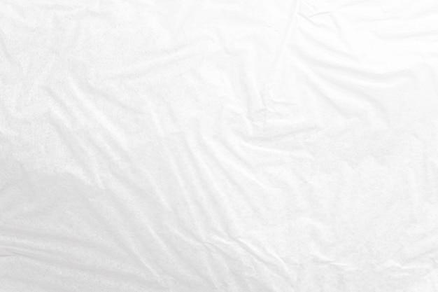 Fondo de textura de papel arrugado blanco cerca