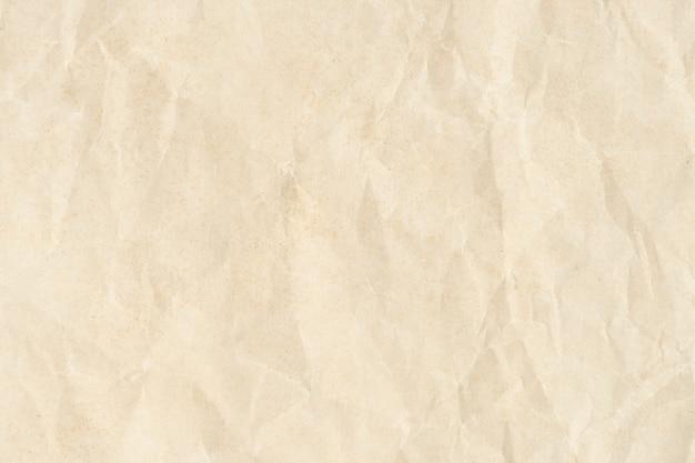 Fondo de textura de papel arrugado vintage