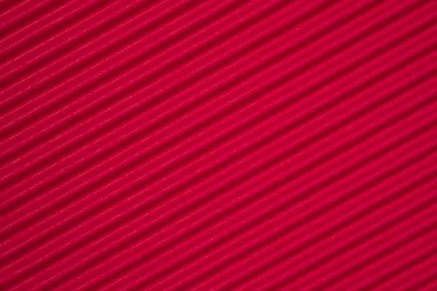 Fondo de textura de papel corrugado rojo