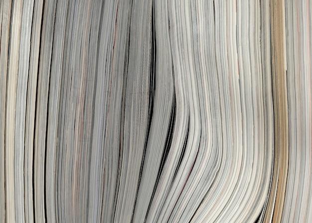 Fondo de textura de papel de libro de pila