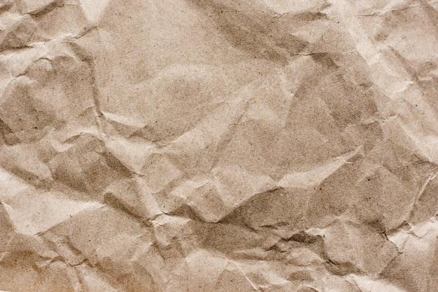 Fondo de textura de papel marrón artesanal close-up