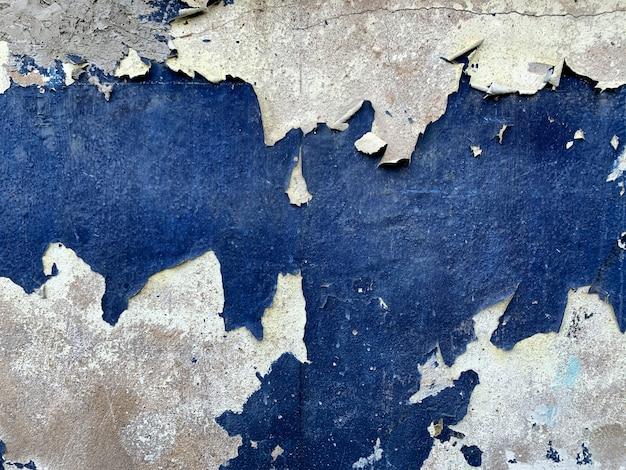 Fondo de textura de pared de color azul abstracto