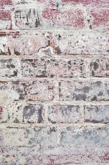 Fondo de textura de pared de ladrillo antiguo ancho telón de fondo de diseño de hogar u oficina