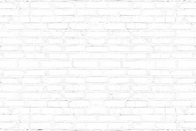 Fondo de textura de pared de ladrillo blanco moderno. resumen ladrillo para telón de fondo.
