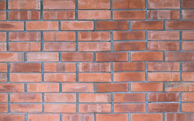 Fondo de textura de pared de ladrillo rojo viejo