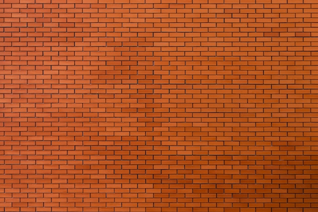 Fondo de textura de pared de ladrillo rojo.
