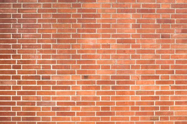 Fondo de textura de pared de ladrillo rojo
