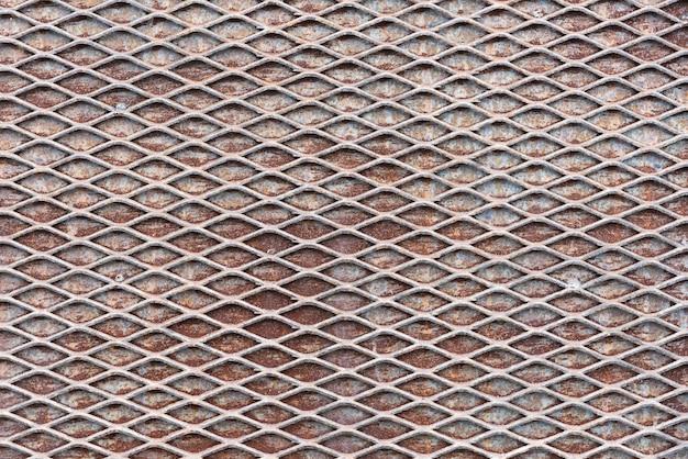 Fondo de textura de pared de red metálica