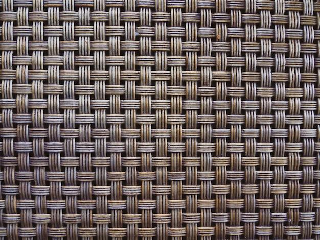Fondo de textura de patrón de cestería.