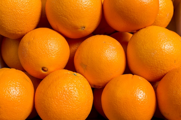 Fondo de textura de patrón de colores de fruta abstracta naranja fresca