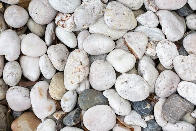 Fondo de textura de piedra guijarros