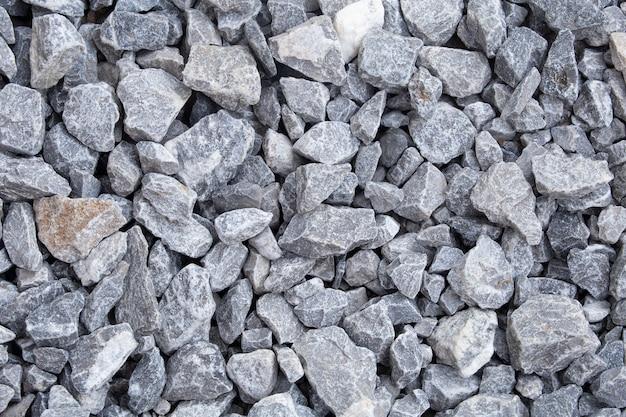 Fondo de textura de piedra triturada.