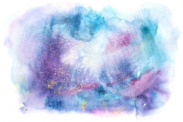Fondo de textura de pintura abstracta acuarela